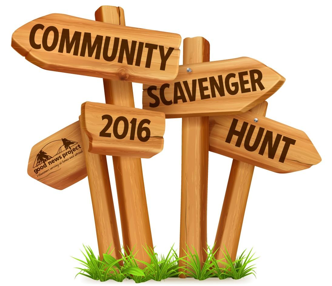 Community Scavenger Hunt 2016