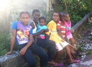 children in Dominica